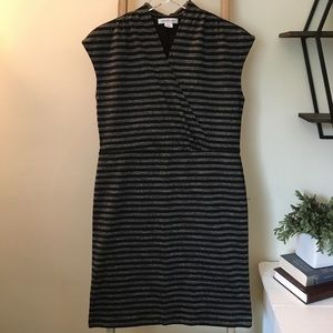 Knit Black & Gray Dress by Liz Claiborne